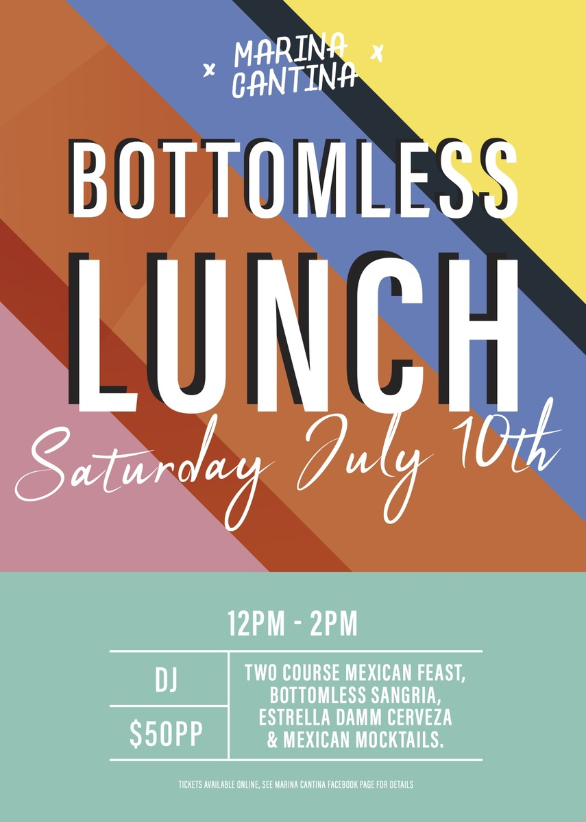 Bottomless lunch July