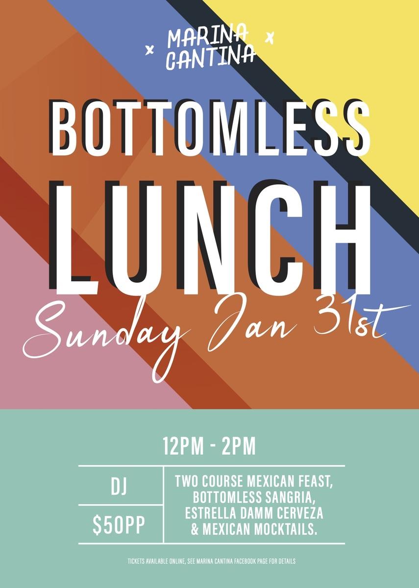Bottomless lunch Jan21